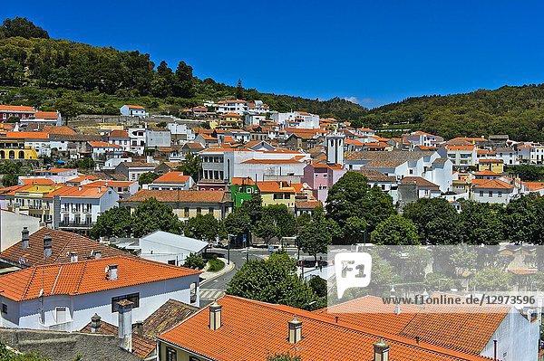 Town centre of Monchique  Algarve  Portugal.