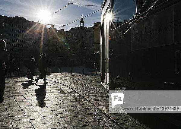 Außenaufnahme,Bauwerk,Europa,Farbe,Finnland,Gegenlicht
