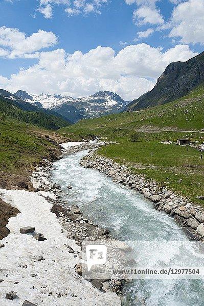 Parc national de la Vanoise  Savoie  France  Europe.