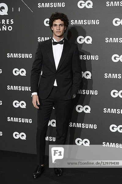 Francisco Henriques attends GQ Men of the Year Awards 2018 at Palace Hotel on November 22  2018 in Madrid  Spain