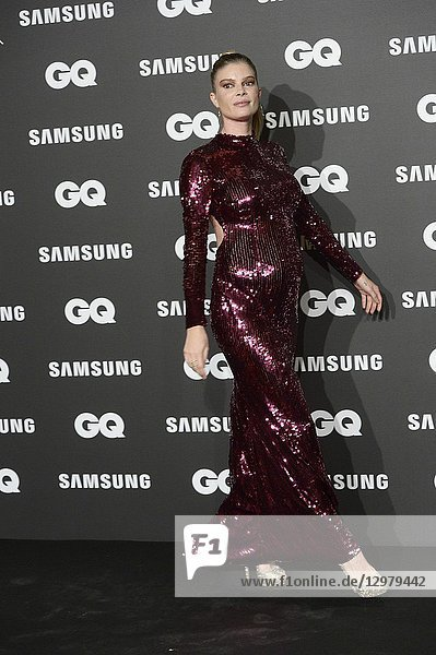 Cristina Tosio attends GQ Men of the Year Awards 2018 at Palace Hotel on November 22  2018 in Madrid  Spain