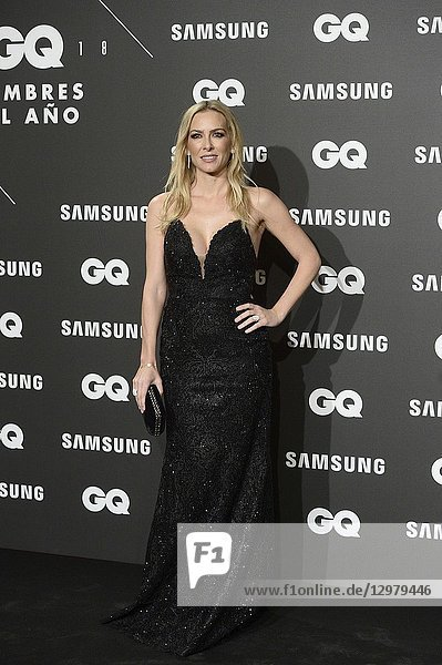 Kira Miro attends GQ Men of the Year Awards 2018 at Palace Hotel on November 22  2018 in Madrid  Spain