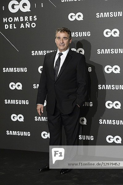 Eduard Fernandez attends GQ Men of the Year Awards 2018 at Palace Hotel on November 22  2018 in Madrid  Spain