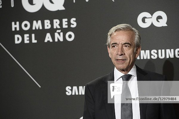 Imanol Arias attends GQ Men of the Year Awards 2018 at Palace Hotel on November 22  2018 in Madrid  Spain