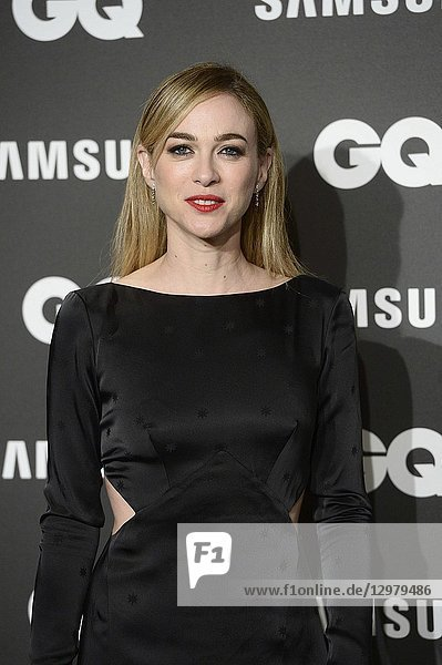 Marta Hazas attends GQ Men of the Year Awards 2018 at Palace Hotel on November 22  2018 in Madrid  Spain