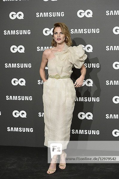 Amaia Salamanca attends GQ Men of the Year Awards 2018 at Palace Hotel on November 22  2018 in Madrid  Spain