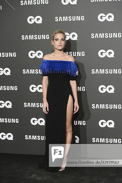 Ana Fernandez attends GQ Men of the Year Awards 2018 at Palace Hotel on November 22  2018 in Madrid  Spain
