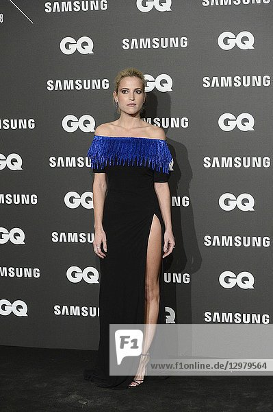 Ana Fernandez attends GQ Men of the Year Awards 2018 at Palace Hotel on November 22,  2018 in Madrid,  Spain
