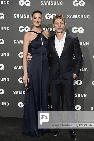 Laura Sanchez  David Ascanio attends GQ Men of the Year Awards 2018 at Palace Hotel on November 22  2018 in Madrid  Spain