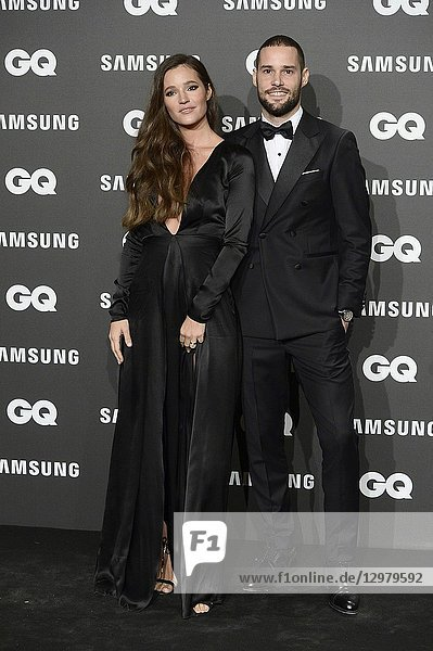Malena Costa  Mario Suarez attends GQ Men of the Year Awards 2018 at Palace Hotel on November 22  2018 in Madrid  Spain