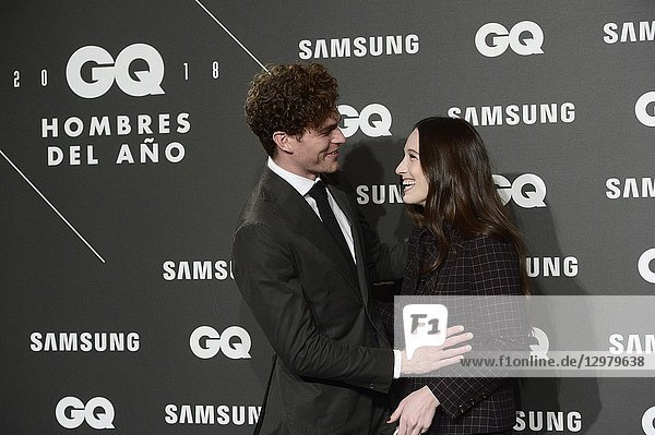 Vance Joy attends GQ Men of the Year Awards 2018 at Palace Hotel on November 22  2018 in Madrid  Spain