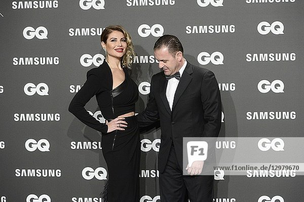 Pedja Mijatovic,  Aneta Milicevic attends GQ Men of the Year Awards 2018 at Palace Hotel on November 22,  2018 in Madrid,  Spain