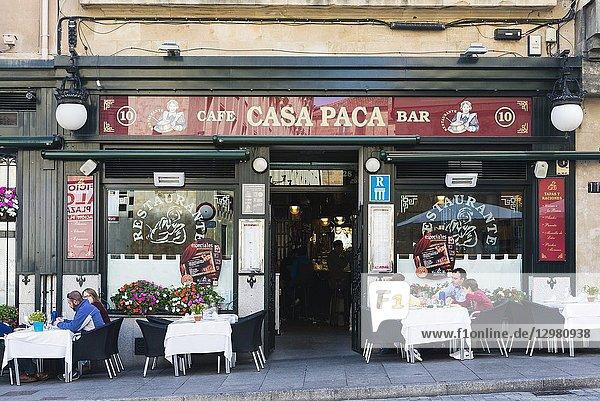 Winery restaurant bar Casa Paca. Salamanca  Castilla y Leon  Spain  Europe.