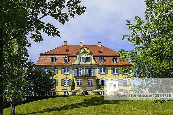 Germany  Baden-Wuerttemberg  Isny  Castle Hotel Neutrauchburg