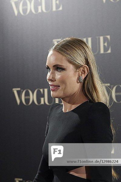 Helen Svedin attends Vogue joyas awards photocall at Madrid at Palacio de Santoña on November 29  2018 in Madrid  Spain