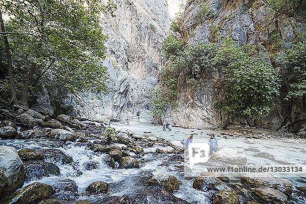 Saklikent Gorge  Saklikent National Park  Fethiye Province  Lycia  Anatolia  Turkey Minor