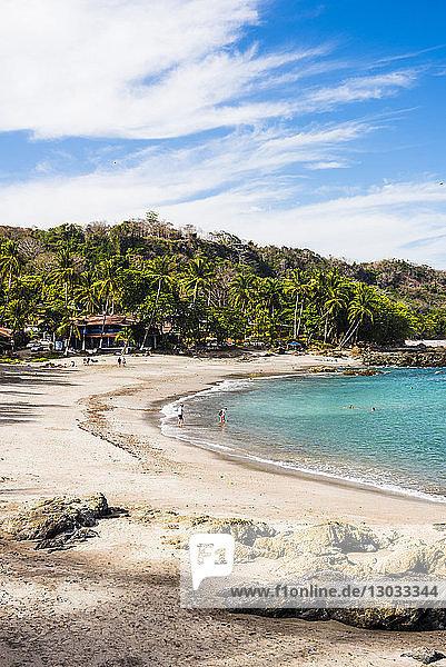 Montezuma Beach  Nicoya Peninsula  Puntarenas  Costa Rica