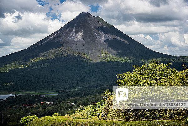 Arenal Volcano  Alajuela Province  Costa Rica
