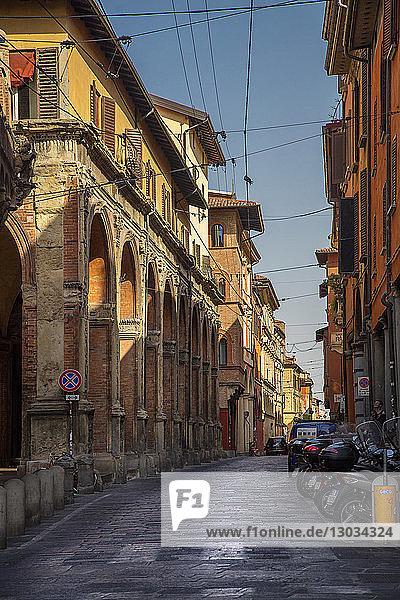 Strada Maggiore  Bologna  Emilia-Romagna  Italy