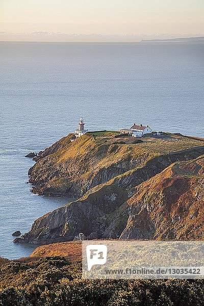 The Baily Lighthouse  Howth Head  Howth  County Dublin  Leinster  Republic of Ireland