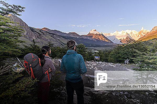 Felsklettern in El Chaltén  Südpatagonien  Argentinien