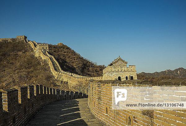 The Great Wall of China; Mutianyu  Huairou County  China