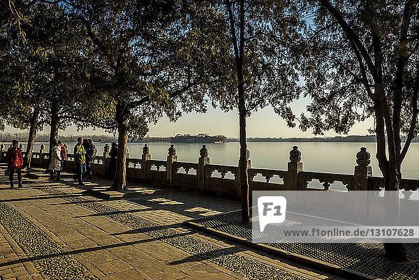 Kunming Lake  The Summer Palace; Beijing  China