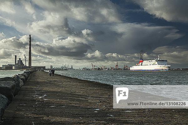 Dublin city port; Dublin  Leinster  Ireland