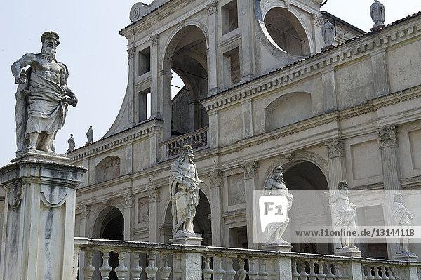 Italy  Lombardy  Mantua  S. Benedetto Po  Benedictine monastic complex of Polirone  Basilica and Abazia. Residence of Matilda of Canossa.