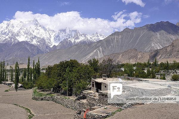 Pakistan  Nagar valley  landscape