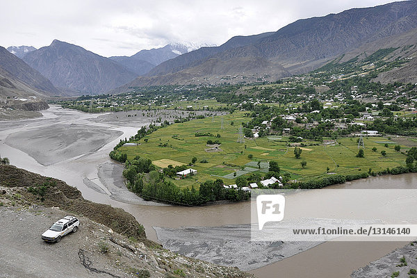 Pakistan  Swat valley  landscape