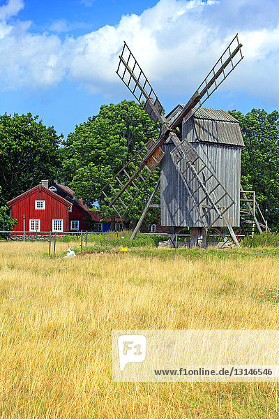 Windmühle, Himmelsberga, Öland, Götaland, Schweden, Europa