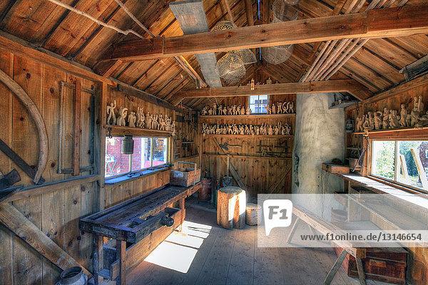 Freilichtmuseum mit Katthult-Hof, Rumskulla, Smaland, Schweden, Europa