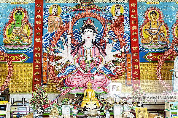 Buddhist temple  Kuala Lumpar  Malaysia