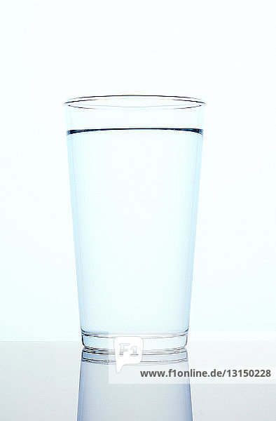 Full glass of water