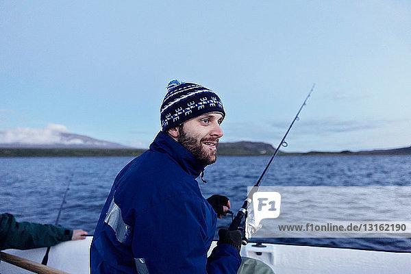 Men on fishing trip