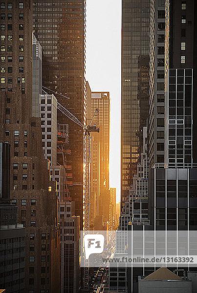 Midtown Manhattan  New York  USA
