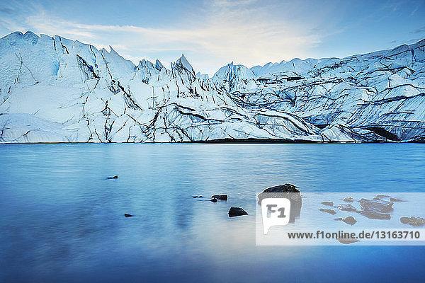Matanuska Glacier  Palmer  Alaska  USA
