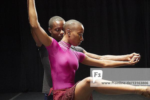 Balletttänzer in der Praxis