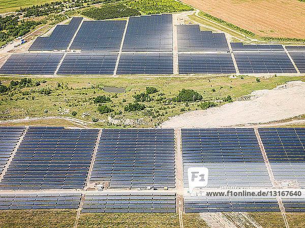 Solarpark Senftenberg  Photovoltaik-Kraftwerk  Senftenburg  Deutschland
