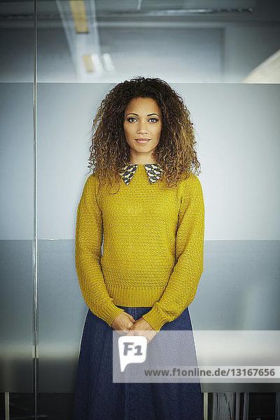 Portrait of female office worker