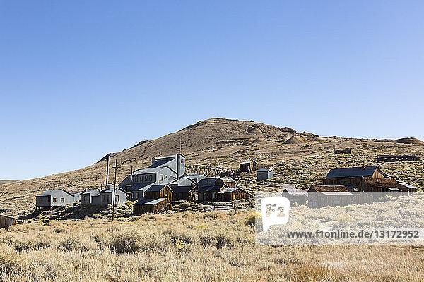 USA  Kalifornien  Sierra Nevada  Bodie State Historic Park  Goldgräberstadt