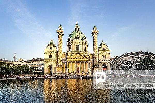 Österreich  Wien  Karlskirche