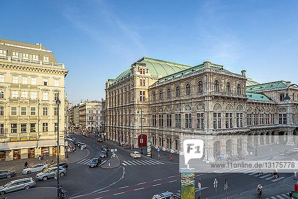 Österreich  Wien  Wiener Staatsoper