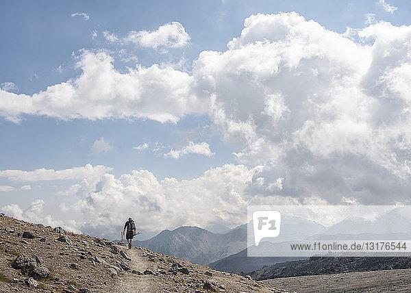 Russland  Kaukasus  Bergwandern im oberen Baksan-Tal