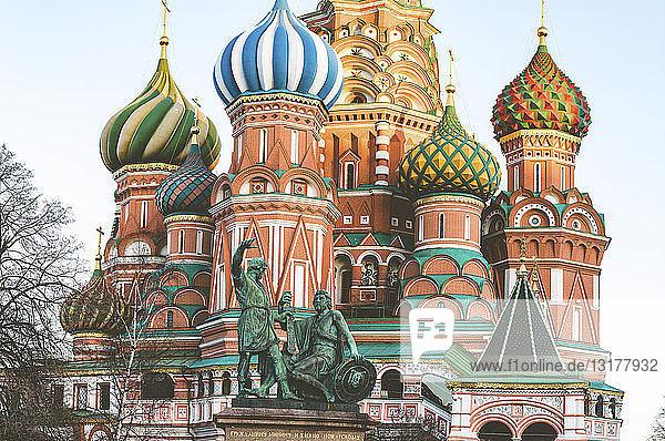 am Tag,Architektur,Außenaufnahme,Basilius-Kathedrale,Baukunst,Bauwerk