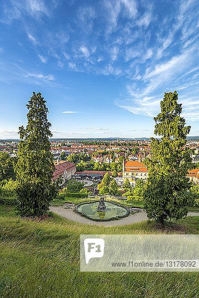Deutschland  Bayern  Bamberg  Stadtansicht