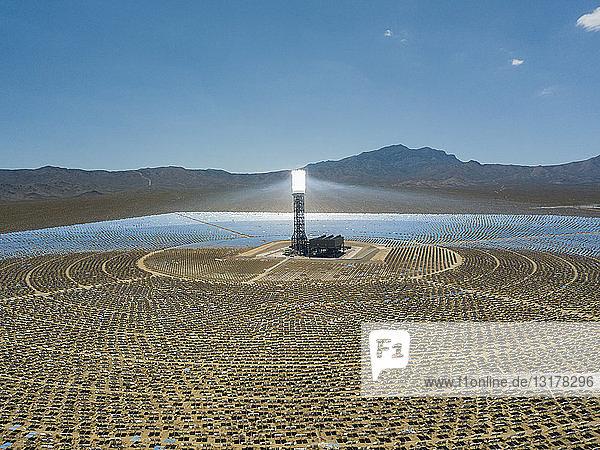 USA  Las Vegas  Sonnenenergiefeld