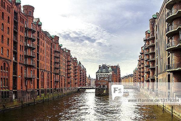Deutschland  Hamburg  Alte Speicherstadt