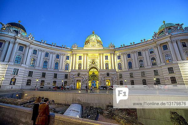 Österreich  Wien  Alte Hofburg  Michaelerplatz  archäologische Ausgrabungsstätte